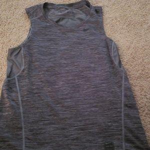 Nike pro fitted mens tank  sz medium